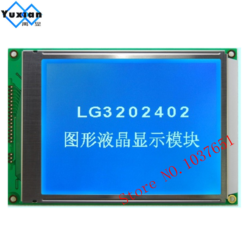 5.7inch 320240 lcd display screen panel 160x109mm blue without control IC 14pin 16pin FFC LG3202402BMDWH6V  DMF50840  WG320240A 5.7inch 320240 lcd display screen panel 160x109mm blue without control IC 14pin 16pin FFC LG3202402BMDWH6V  DMF50840  WG320240A
