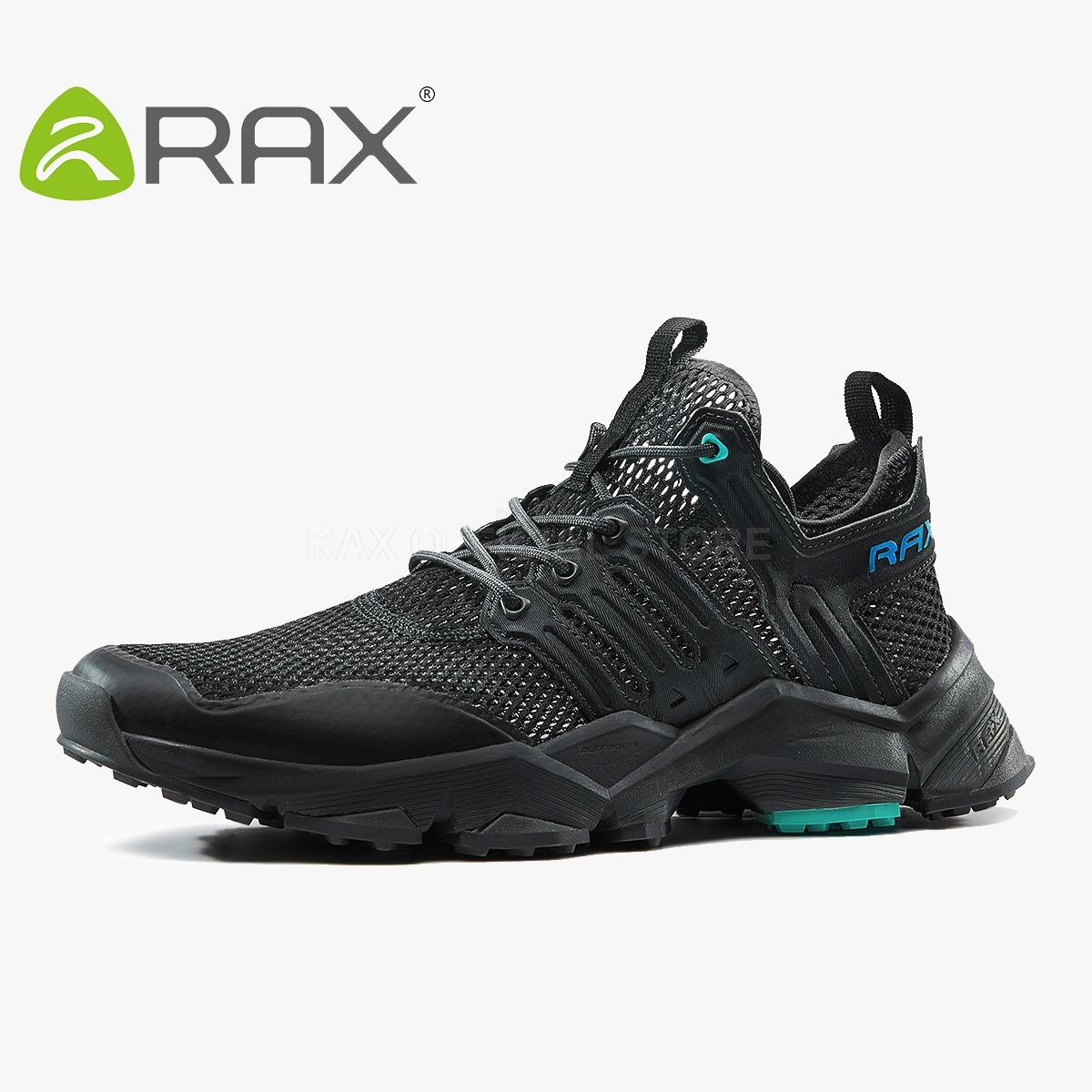 Rax Mens Running Shoes Sport Shoes Men Breathable Running Sneakers Man Trainers Outdoor Sport Shoes Athletic Zapatos De Hombre mulinsen men s running shoes blue black red gray outdoor running sport shoes breathable non slip sport sneakers 270235