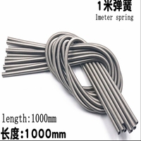 1pcs 304stainless steel pull spring wire diameter 2.0mm outer diameter 12 25mm length 1000mm