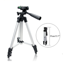Pro 35-104cm Aluminum Mini Lightweight Tripod 4 Sections Compact Flexible Extendable Universal Tripod for Digital Camera