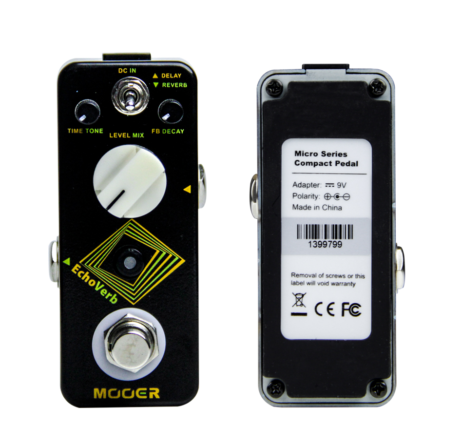 Mooer EchoVerb High Quality Reverb Guitar Effects Pedal Digital Delay Guitar Pedal Guitar Accessories f07808 tarot 4006 620kv multiaxial brushless motor tl68p02 for multi axle copters multicopters diy rc drone tarot fy680 pro fs