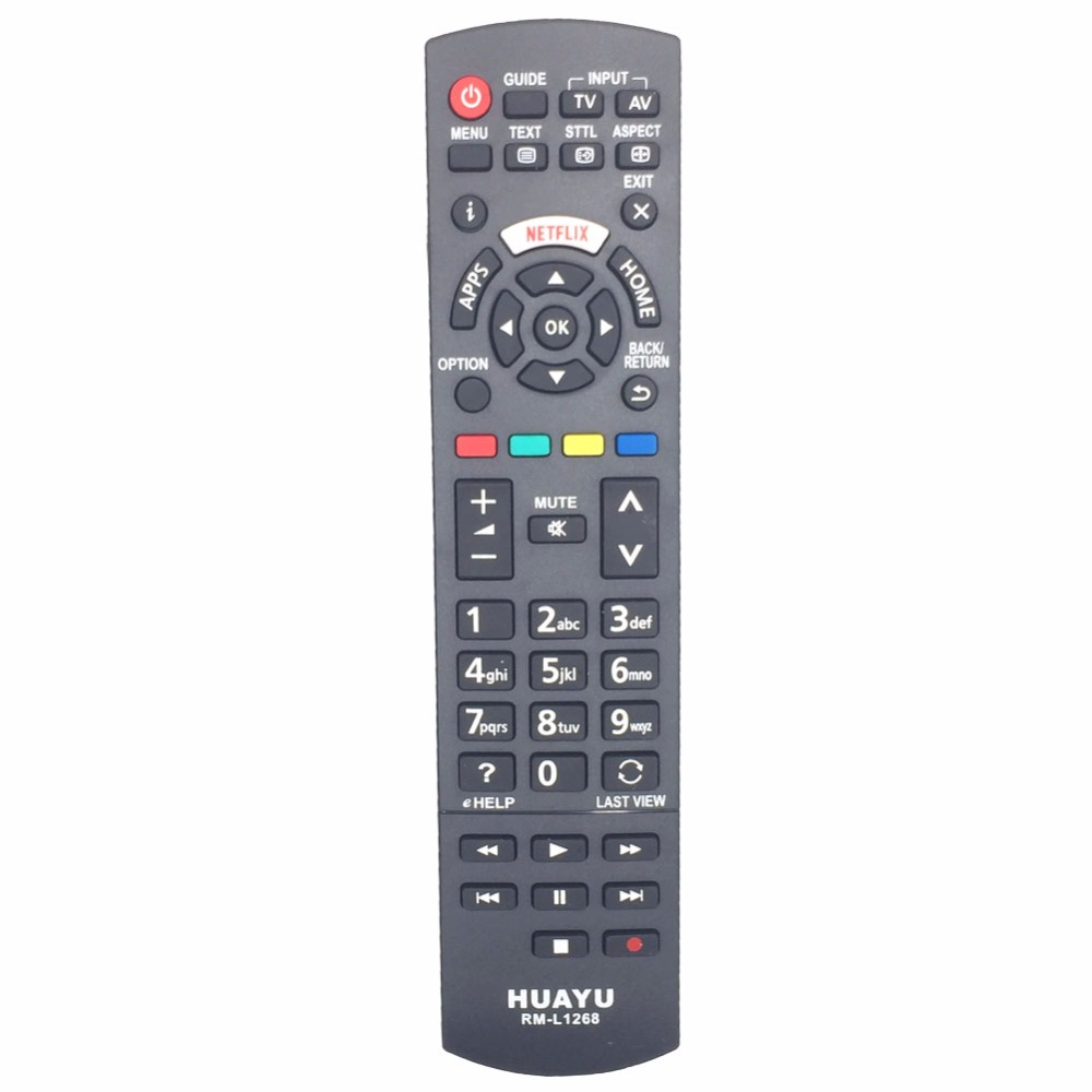 RM-L1268 For Panasonic TV with NETFLIX Buttons Remote Contro