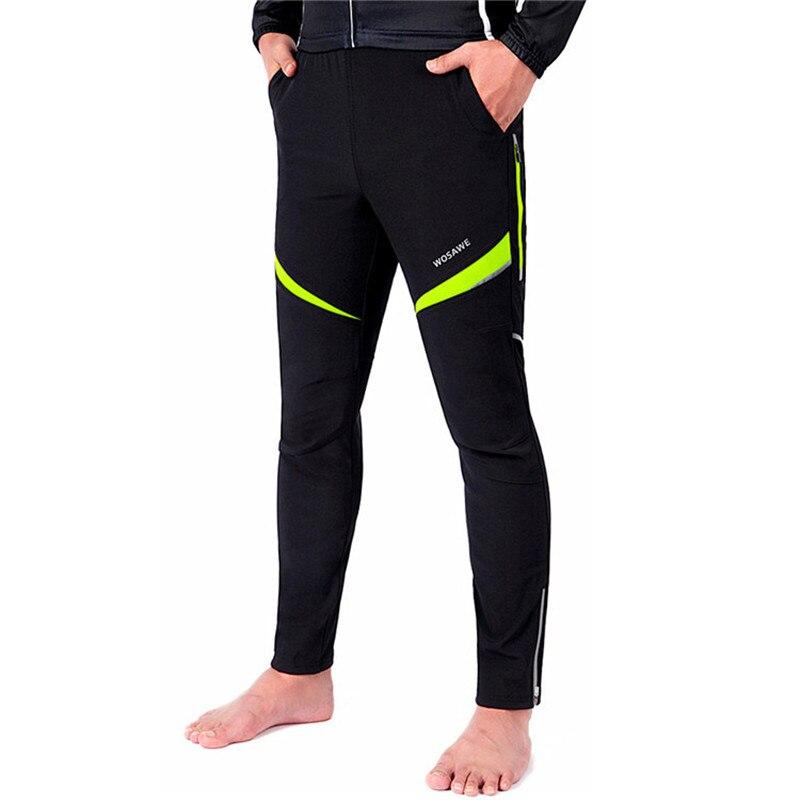 Waterproof Bike Pants Men Women Bicycle Pants Winter pantalon calca ciclismo feminino Reflective Long Winter Cycling