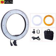 18″ 5500K 240pcs RL188 Photography LED Photo Ring Light Studio Dimmable Camera Ring Light Lamp Kit for DSLR Camera Makeup Photo