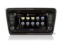 For Skoda Octavia MK3 2013~2014 – Car GPS Navigation System + Radio TV DVD BT iPod 3G WIFI HD Screen Multimedia System