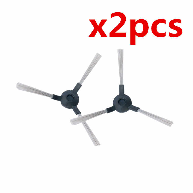 2 unids/lote Robot aspirador cepillos Cepillo Lateral para Midea VCR01 VCR12 piezas de Robot aspirador Accesorios