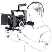 Lightdow LD F1 4 IN 1 DV / HDV / DSLR Camera Tripod & Shoulder Support Rig Kit for 5D 6D 7D 60D 70D 5DII 5DIII Via DHL (LD F1)