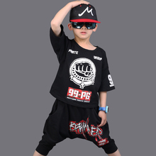 Dance Costume Kids Set Girls Clothing 2018 New Summer Boys Sets Clothes 2Pcs Pullover T-Shirt+Harem Pants Children Clothing Suit new 2017 retail children set cartoon dusty plane fashion suit boys jeans sets t shirt pant 2pcs kids summer clothing
