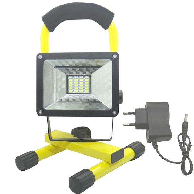 Led 18650 flood light waterproof portable lights outdoor led 18650 flood light waterproof portable lights outdoor rechargeable lamp by 37v 18650 battery aloadofball Image collections