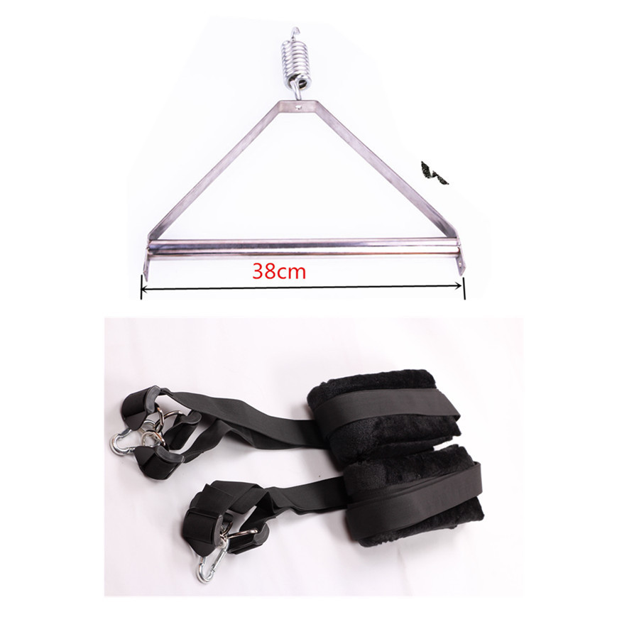Steel Tripod Adult Sex Swing Bdsm Set Hanging Swing for Sex,Sexual Game Sex Machines Erotic Sex Furniture ,Columpio Sexual цена