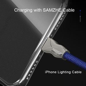 Image 4 - SAMZHE 透明 iPhone × ケースプロテクター耐震 360 度フルカバー iphone ×