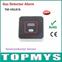 2pcs Lot CO Detector Photoelectric Independent CO Gas Sensor Carbon Monoxide Poisoning Alarm Detector For Home