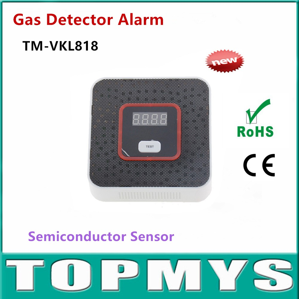 где купить  Photoelectric Independent Natural Gas Leak  Detector Sensor Gas Leakage Poisoning Alarm Detector for home security Alarm  по лучшей цене