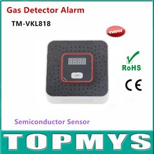 Photoelectric Independent Natural Gas Leak  Detector Sensor Gas Leakage Poisoning Alarm Detector for home security Alarm