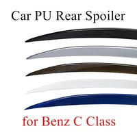 Fabriek prijs koop Carbon achterspoiler Voor M-ercedes voor B-enz C Klasse kofferbak lip wing 5 kleuren om kiezen