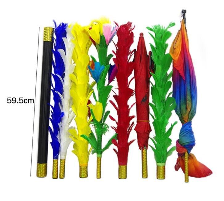¡Envío Gratis! Variación de palos de plumas-trucos de magia/accesorios, escenario, ilusión, mentalismo, primer plano, comedia, clásico Magia Juguetes