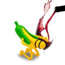 Забавный мистер Кукуруза винные пробки Новинка пивная пробка красная пробка для бутылки вина бар аксессуары Свадебная вечеринка Декор творческие подарки