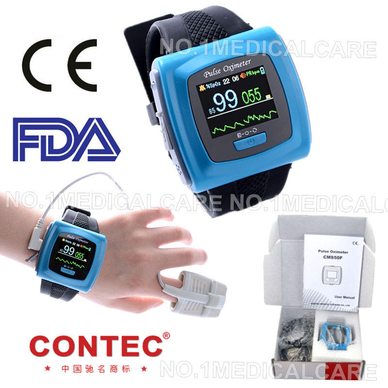 CONTEC CMS50F Wrist Pulse Oximeter, OLED, USB PC Software, Alarm, 24h Recording Pulse Monitoring Oximeter cxzyking 20cm sweet new kt cat hello kitty plush toys cute hug mushroom hello kitty kt cat pillow dolls for kids baby girl gift