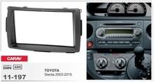 frame+Car DVD radio Android 6.0.1 Autoradio GPS Navigation Player Headunit for toyota Sienta 2003-2015 stereo map camera free
