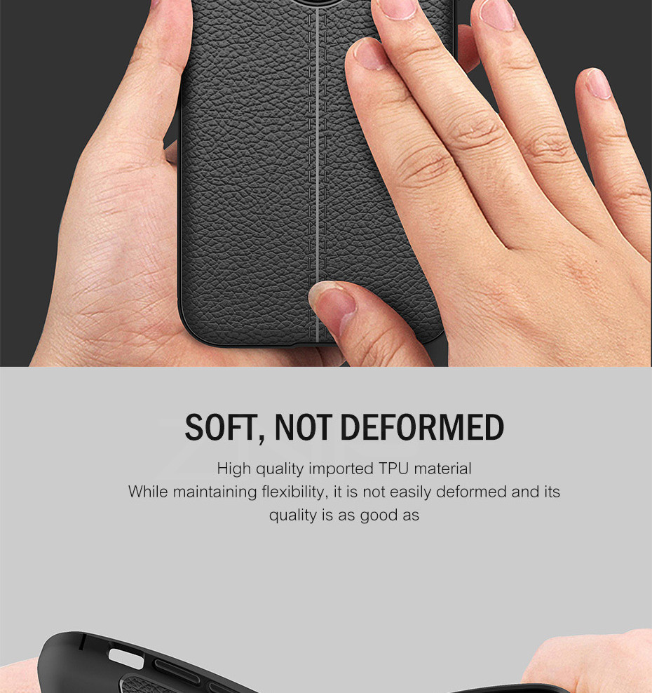 HTB15e97d3HqK1RjSZFPq6AwapXai - ZNP Luxury Shockproof Matte Cover For iPhone 6 7 8 Plus 6s Case Leather Carbon Fiber Leather For iPhone X XR XS Max Phone Case