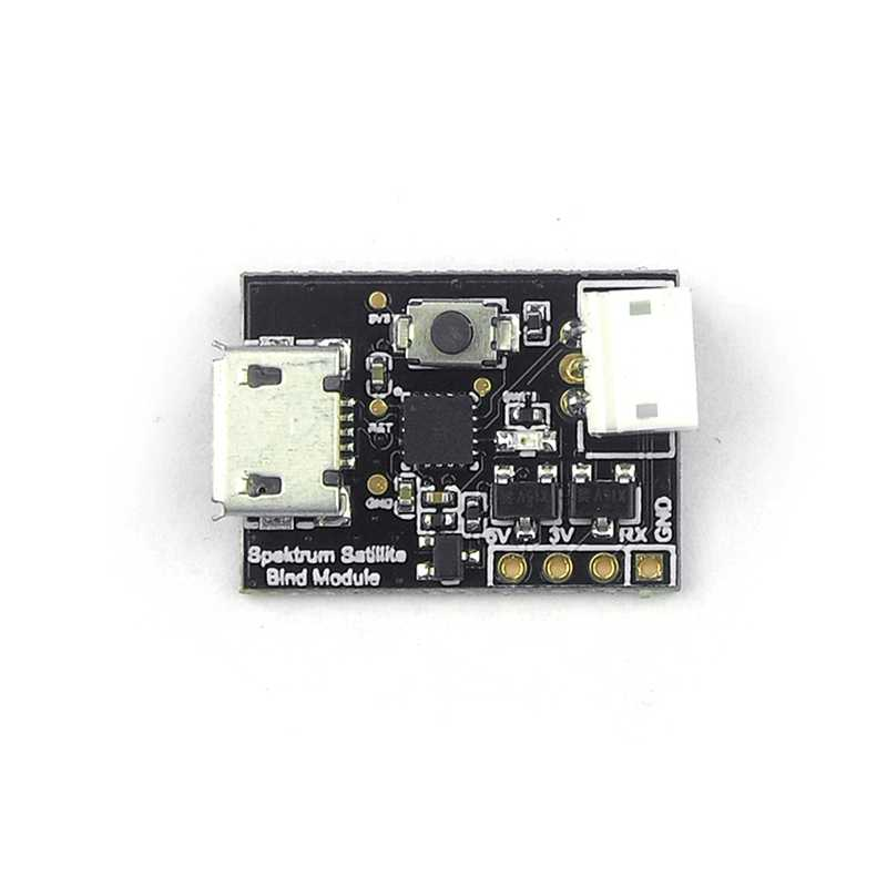 iRangeX BM01 Simple Tiny Bind Module For DSM2 For DSMX/Spektrum Satellite  Receiver RC Multicopter Models Spare Part DIY Accs