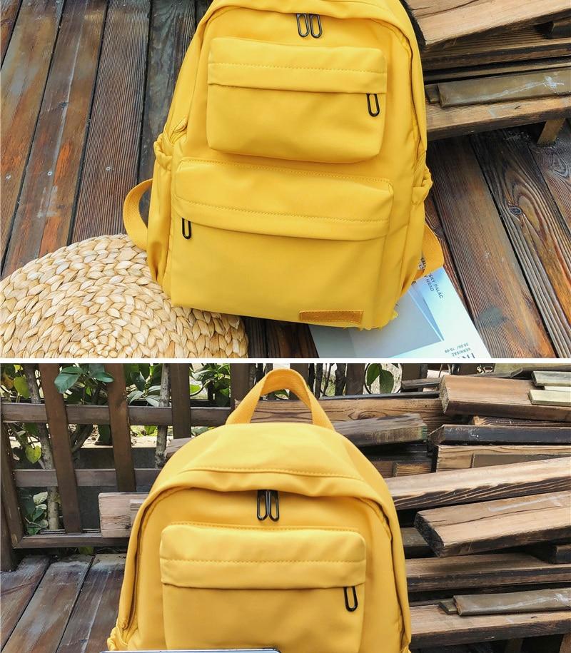 HTB15e9 KzDpK1RjSZFrq6y78VXaZ DCIMOR New Waterproof Nylon Backpack for Women Multi Pocket Travel Backpacks Female School Bag for Teenage Girls Book Mochilas