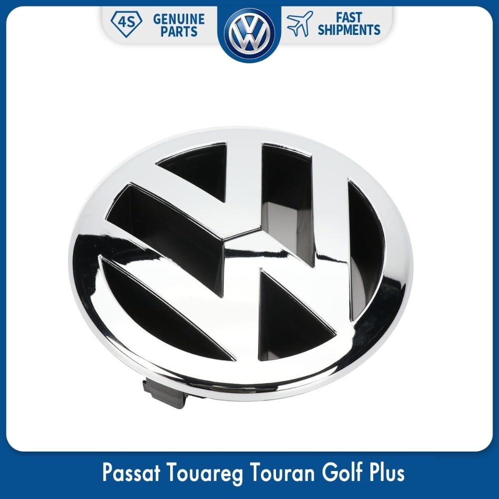 130 мм передняя решетка радиатора, логотип для VW Volkswagen Passat 06-11 Touareg 07-10 Touran Golf Plus 2005-2009 5M0 853 601 FDY