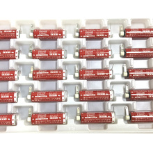 MasterFire 10pcs/lot New Original MAXELL AA 14500 ER6C 3.6V Lithium Battery PLC Batteries Free Shipping