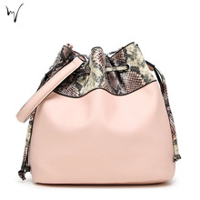 Serpentine Rope Fell Open Pocket Chic Shopping Personalized Soft Womans font b Bag b font Package