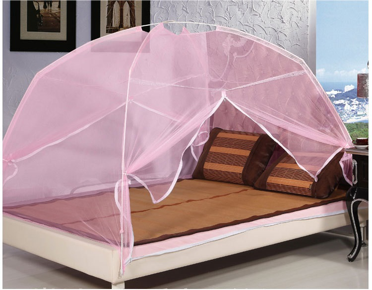 Mosquito Tent For Double Bed Canopy Net Curtain Portable Antimosquitos In From Home
