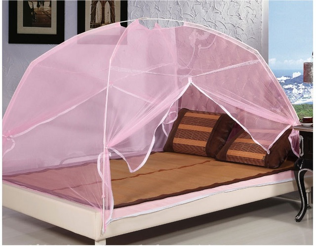 Mosquito tent for double bed canopy mosquito net tent bed canopy for bed mosquito curtain portable & Mosquito tent for double bed canopy mosquito net tent bed canopy ...