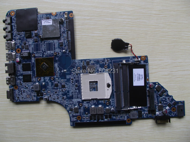 ФОТО 659094-001 for HP DV7T DV7-6000 laptop motherboard HM65 6490/1G 100% Tested and Free shipping!
