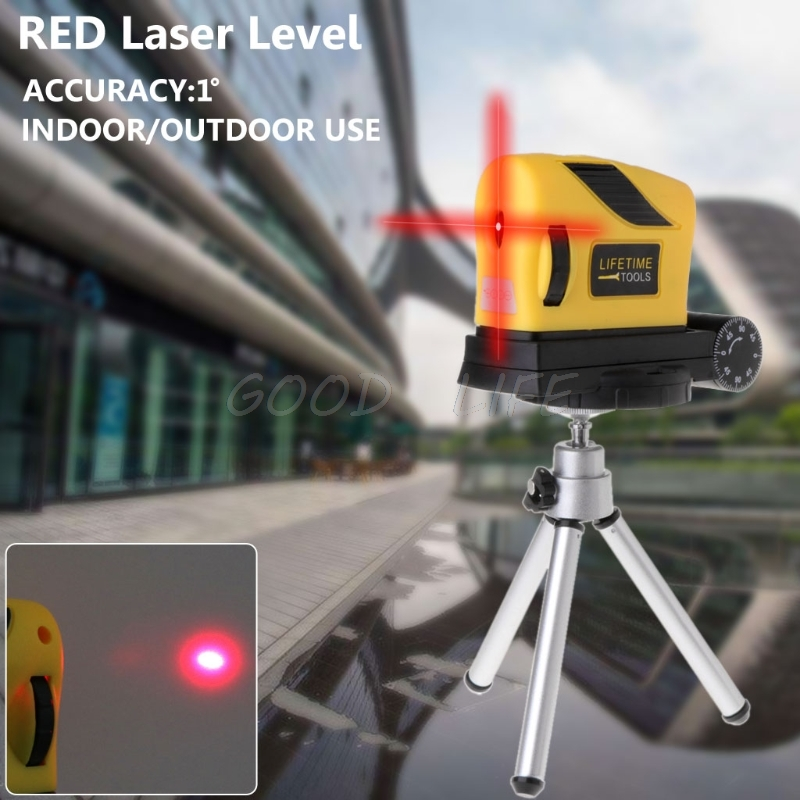 4in1 360 degree Rotary Laser Level Self-Levelling Cross Line Measuring + Tripod Stand
