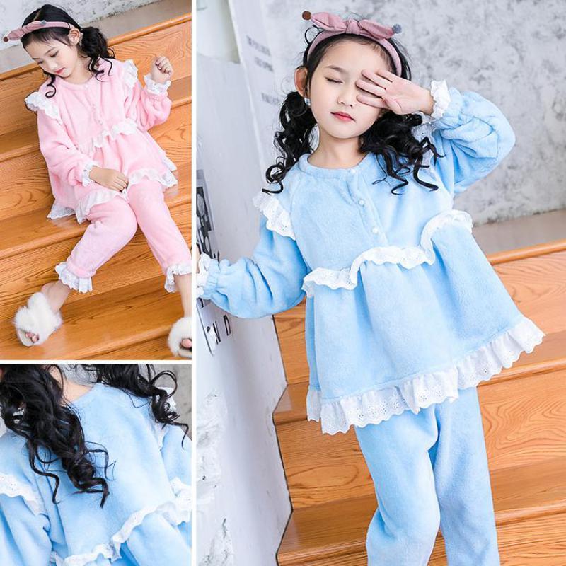 2018 enfants noël pyjamas ensembles bébé filles vêtements Pyjama Fille famille vêtements de nuit bambin filles mignon pyjamas Pijamas Infantil 12
