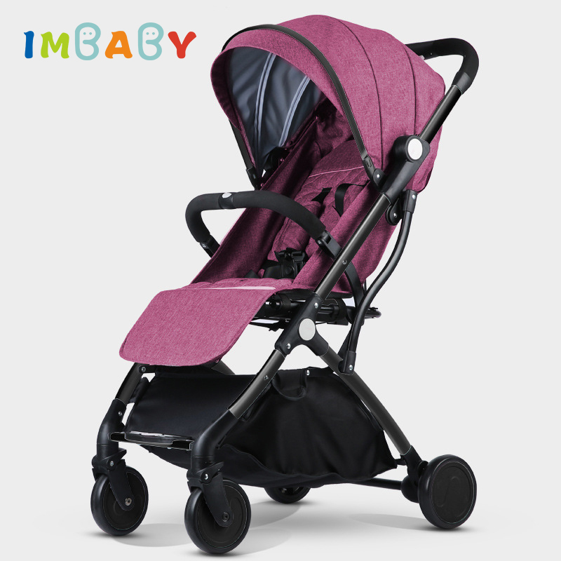 IMBABY Baby Stroller Luxury Stroller for Baby Carriages Folding Baby Pram For Newborn High Landscape Baby
