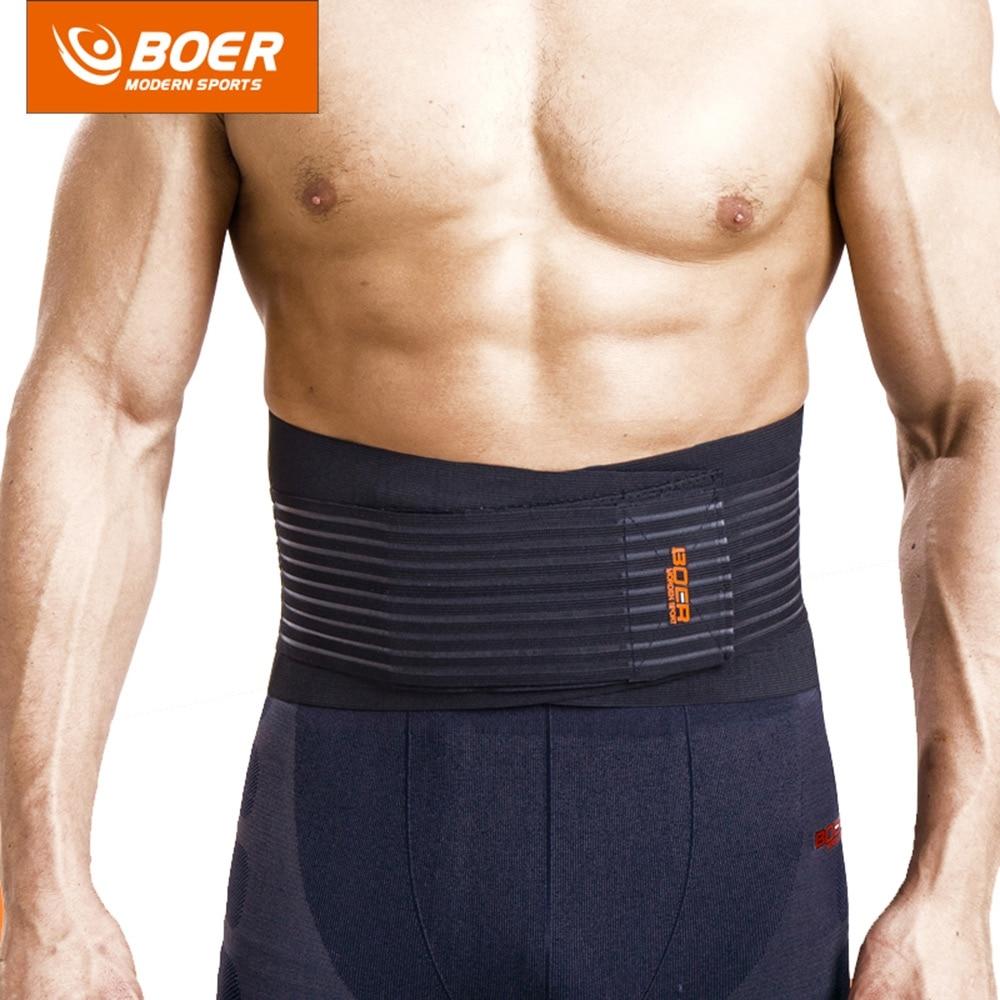 Fitness Trainer Body Shaper Waist Trimmer Tummy Slimming Belt Sports Safety Waist Support Polyester Waist Belt Gym Fitness