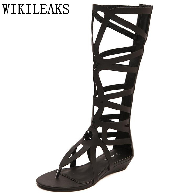 summer sexy high gladiator sandals women shoes chaussures femme ete 2018 zapatos de mujer ladies sandal flip flops calzado mujer 2017 summer new rivet wedges sandals creepers women high heel platform casual shoes silver women gladiator sandals zapatos mujer