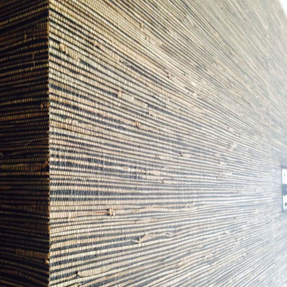 Natuurlijke Wanddecoratie Materiaal Echte Plant Grasscloth Behang Voor Odern Restaurant En Interieur Design In Natuurlijke Wanddecoratie Materiaal Echte