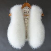 children girls waistcoat design kids warm vest girl's jacket faux fur vest for girls coat  suit vest mother Queen Size