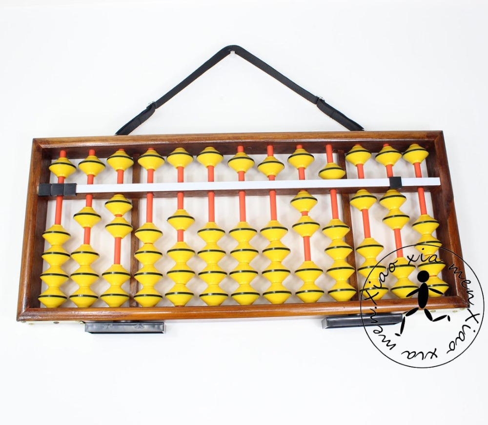 High quality 13 column wood  Abacus big size  Chinese soroban Tool In Mathematics Education  for teacher XMF021 michael hoy mathematics for economics 2e ise