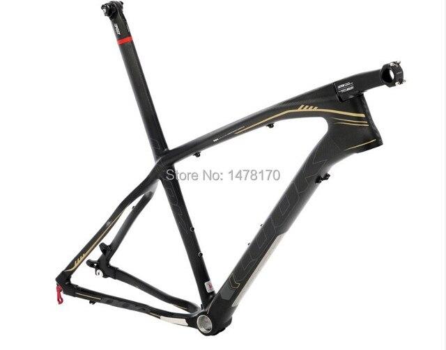 Hot sale LOOK 986 Mountain bike frame+STEM+headset+seat post+seat ...