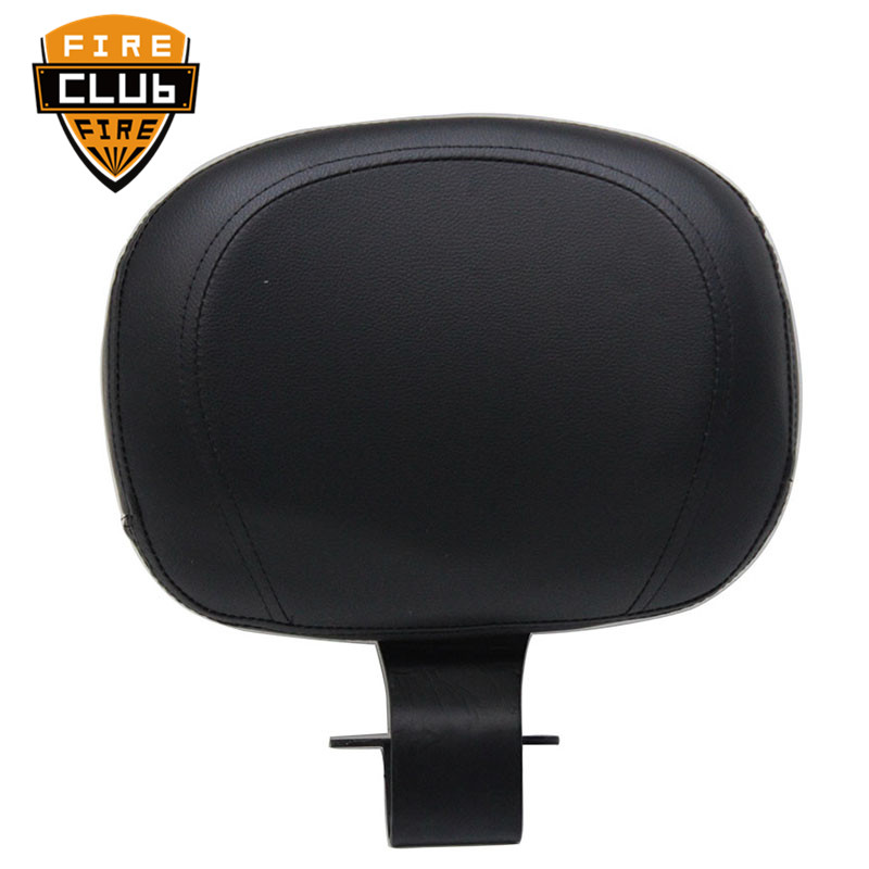 Motorcycle Front Driver Rider Backrest Sissy Bar Cover Pads Seat For Yamaha Vstar 1100