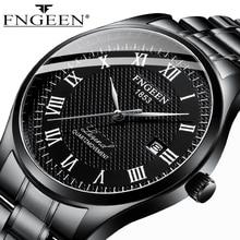 Quartz-Watch Casual-Clock Business Waterproof Fashion Relogio Original Masculino Auto-Date