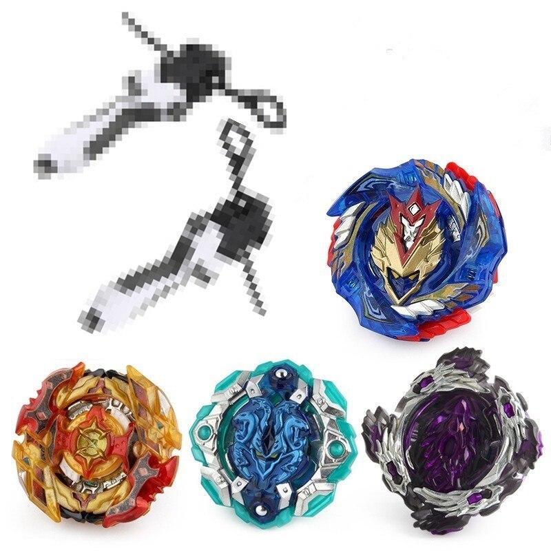 Toupie beyblade métal Fusion Top 4 pièces/ensemble Bayblade Burst 4D Master Bey lames avec lanceur jouets pour enfants garçon B-127 B-128