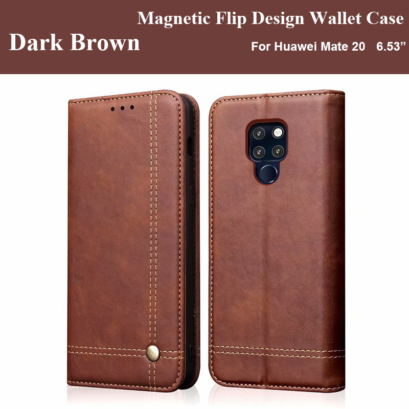 Huawei Mate 20 Pro Case Flip Magnetic Phone Cases For Funda Huawei Mate 20 Pro Case Leather Vintage Wallet Cover Huawei Mate 20