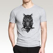 2019 degli uomini di Modo di T-Shirt In Cotone Stampato divertente Più Il  Formato di Marca Stampato Casual T Camicette Abbigliam. 4f5ee0f2388f