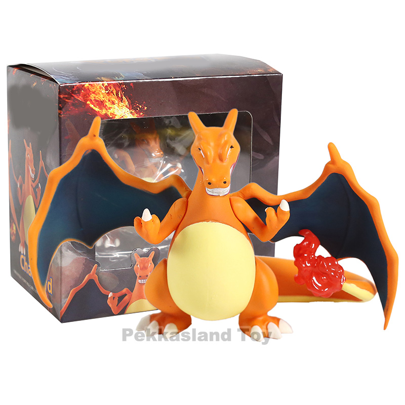 New Anime Funny Look Pkm Charizard Figures Toy Cartoon Ation Figure Collection Model Gifts Toys For Children