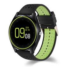 Relógio inteligente V9 Para IOS Android Telefone Do Relógio Das Mulheres Dos Homens V8 Atualização Bluetooth Smartwatch SIM Suporte TF SMS Alarme Pulseira pulseira