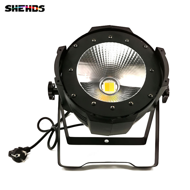High Power COB 100W Par Led Par COB 100W DMX512 DMX Stage Light with cool white and warm white splicing 2 light led blinders with 100w led cob x2 amber cold white color for audience blinding color warm