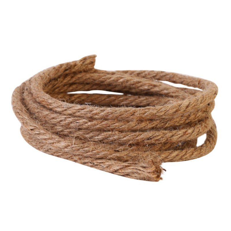 Diy All Natural Cat Toys Durable Cat Scratching Post Toys Replacements Sisal Rope Cat Toys Pet Supplies